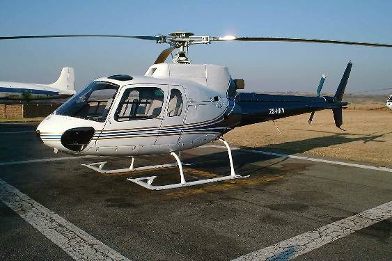 Eurocopter AS350B/BA Squirrel 1981