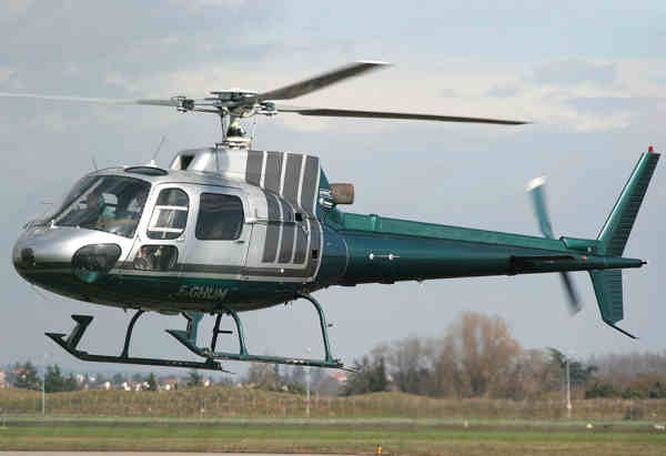 Eurocopter AS350BA Squirrel 1985