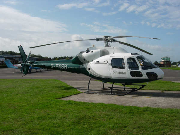 Eurocopter AS355F1 Twin Squirrel 1981